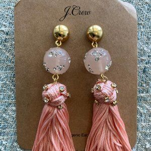NWT J Crew Tassel earrings